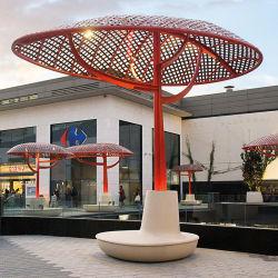 Y816 de luxe en plein air en fibre de verre d'attente, de personnaliser faite de plein air Président Commerical Arear Public mobilier pour le public ou le jardin/commercial Plaza