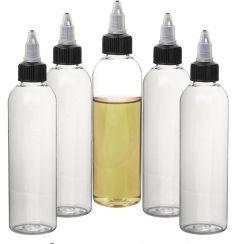 120 мл пустых бутылок из ПЭТ форма пера E жидкости бачок под давлением многоразового использования для E-Dropper Cig пластиковых бутылок с поворотом выключить Caps