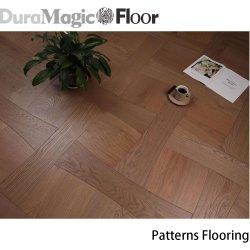 Venda por grosso Majestic elegante formato Faixa de pavimentos de madeira da engenharia de madeira de carvalho