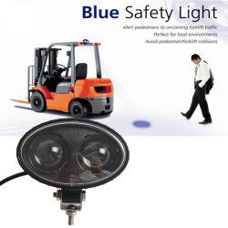 Mancha Azul de ré backup LED acende a Luz de Segurança do carro elevador