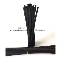 Palos de la fragancia de Rattan negro aceite esencial difusor palos