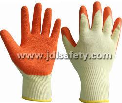 Natürlicher Latex beschichtete Arbeits-Handschuhe für Sicherheits-Produkt
