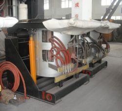 2 toneladas de capacidad 1000kw horno de inducción para fundir el aluminio