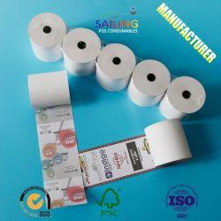 Impresa POS OEM Rollo de papel térmico Fax (80mm, 57mm)