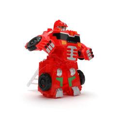 De hete Auto van het Stuk speelgoed van de Transformatie van de Jonge geitjes van het Speelgoed van de Robot van de Misvorming van het Raadsel van de Kinderen van de Verkoop Plastic