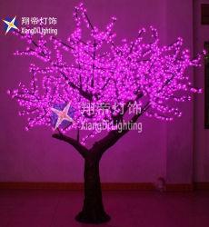 LED blanche de gros de 2,5 m Cherry Blossom la lumière de l'arbre pour Mariage Décoration de l'événement Outdoor LED feux d'arbre
