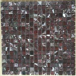 Rossa Levanto Natureza mármore vermelho Praça de pedra mármore Mosaico para casa de banho em mosaico