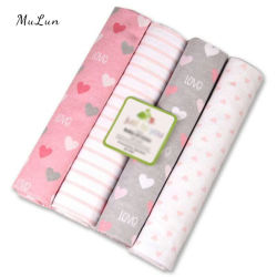 OEM Super Soft Flannel Baby Ontvangstkatoen deken
