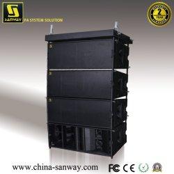 W8LCのプロ可聴周波ラインアレイPAのスピーカー・システム、電力増幅器の線形健全なボックス
