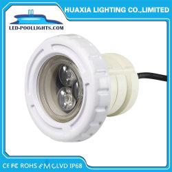高出力 PC 素材 3W/9W IP68 アンダーウォーター LED プールランプ