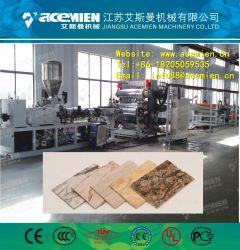 Fiche de marbre synthétique en PVC imité/plaque Machine/extrudeuse