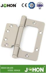 Acier ou de fer porte fenêtre plancher gros douche encastré Charnière de raccord de matériel (102*88)