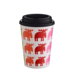 Lid New Design Eco Friendly Custom Travel Mugsの16oz Plastic Coffee Mug Cheap Mugs Insulated Plastic Mugs