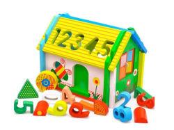 2018 Speelgoed H8147596 van het Stuk speelgoed van het Blokhuis Novely het alle-Natuurlijke Houten Onderwijs