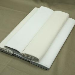 Métier à tisser d'alimentation tissés chiffon de coton gris gris Poly de doublure de poches