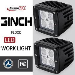 Resistente al agua 16W/Proyectores LED Spot haz de luz de trabajo de las vainas de cubo para SUV Jeep Ford Chevy Truck ATV UTV