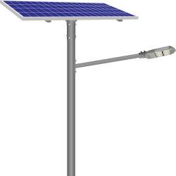 60W Luz Rua Solar com coluna Controle remoto completo de inundação do dispositivo de Came