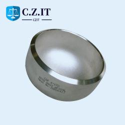 ASME A403 304L 파이프 피팅 심리스 스테인리스 엔드 캡