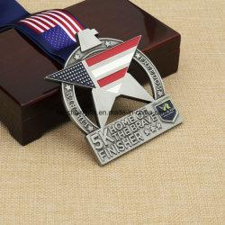 주문 금속 피니셔 메달 또는 운영하는 메달 또는 마라톤 메달을 경주 메달 예약하거나 메달을