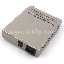 10/100/1000m 1 Porta conversores de mídia de fibra de Gestão Remota