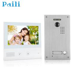 """7 """" VideoIntercom 1/2/3/4/8 Deurbel van de Telefoon van de Deur van de Flat/van de Familie de Video"""