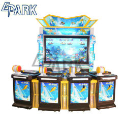 4 Personas de atracciones Galería de vídeo de pesca de máquinas de juego