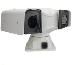 150m Infrare eingehangene PTZ Überwachungskamera des Militärfahrzeug-Dach