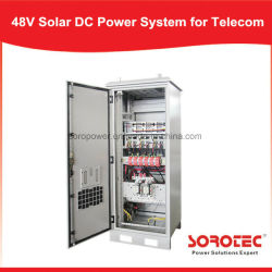 نظام الطاقة الشمسية Shw48500 بقدرة 48 فولت من التيار المستمر لمحطة الاتصالات الأساسية، وواجهة نظام المراقبة عن بُعد