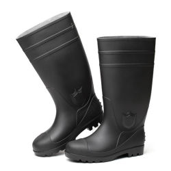 O PVC segurança botas altas, Indústria botas para trabalhador
