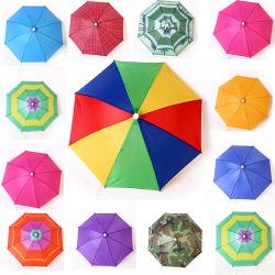 Piscina andar a pesca caminhadas Beach Camping Chefe Umbrella Mulheres Homens Filhos Sol guarda-chuva Hat Cap