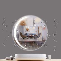 Decorative 接触LED Mirror 円形ミラーのホテルグループの浴室の家具