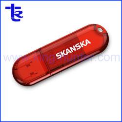 승진 선물을%s 투명한 USB 플래시 메모리 드라이브