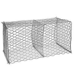 2X2 ha galvanizzato la rete metallica di pietra saldata delle gabbie di Gabion
