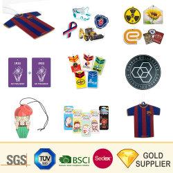 Personalisierte Logo-Kleidung Lady Markenform umweltfreundlicher Diffusor Mit Einzigartigem Aufhängepapier Car Accessoires Air Perfume mit Duft für Die Dekoration