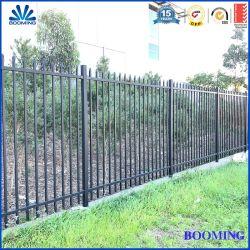 안전 야드를 위한 주거 상업적인 알루미늄 또는 직류 전기를 통한 강철 담 또는 집 또는 학교 또는 공장 또는 정원 또는 잔디밭 또는 브리지 또는 경계