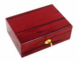 Rosewood High Gloss laccato Gioielli in legno Confezione regalo/confezione