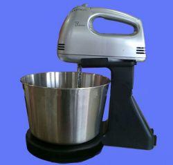 Het de Elektrische Mixer van het huishouden/Vat Eggbeater van het Roestvrij staal/Mixer