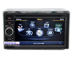 En el Dash 2 DIN GPS estéreo para coche reproductor de DVD multimedia