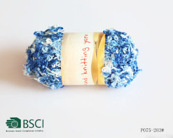 5 色の蝶糸ポリエステルナイロンブレンド糸 - P075