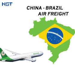 الشحن الجوي السريع للشحن من شينزين/جوانجزو/شنغهاي إلى سانتوس/ريو دي خدمة اللوجستيات الخاصة بوكيل البرازيل في جانيرو/فورتاليزا