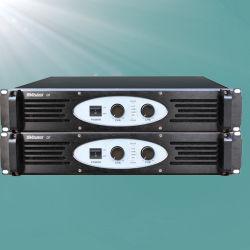 Q-7 2U 2채널 700W 전문가용 Power Bass 앰프