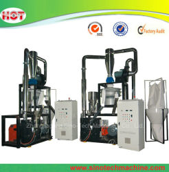 PVC HDPE PET 플라스틱 그라인드 머신 스크랩 또는 분말