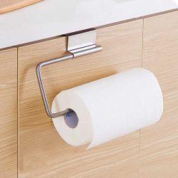 Fácil de instalar o suporte de cozinha toalha de papel titular para 2 cm de espessura travando porta no gabinete