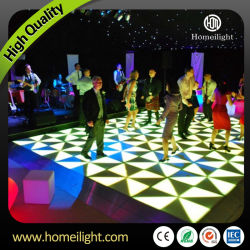 Акрил водонепроницаемый белый танцы панелей пола под руководством в Свадебной этапе группа DJ показать