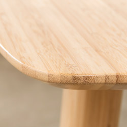 Wasserdichte Bamboo Panel Compact Esstisch und Stuhl für Wohnung