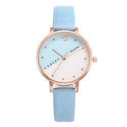 Custom Quartz Relojes ремешок из натуральной кожи девочек Wristwatch элегантный детям смотреть