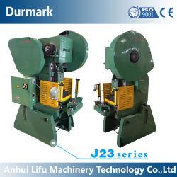 J23 10トン16トン25トン40トン63トンの小さい機械式出版物の打つ金属板の切断押す機械