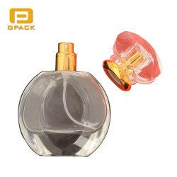 De prachtige Flessen van het Parfum van de Vuursteen van de Rang van het Eind van het Kristal van het Deksel GLB van de Flessen van het Parfum van het Ontwerp Buitensporige Acryl Witte Hoge Mooie waar ik de Lege Flessen van het Parfum van de Verstuiver kan kopen