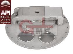 Coperchio di alluminio dell'autocisterna di caricamento della parte superiore del serbatoio di combustibile di buona qualità (C801C-460)