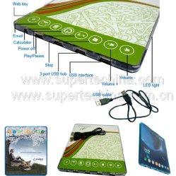 Multi-Funktions-Web Key USB Hub mit Mouse Pad (S2B-2551B)